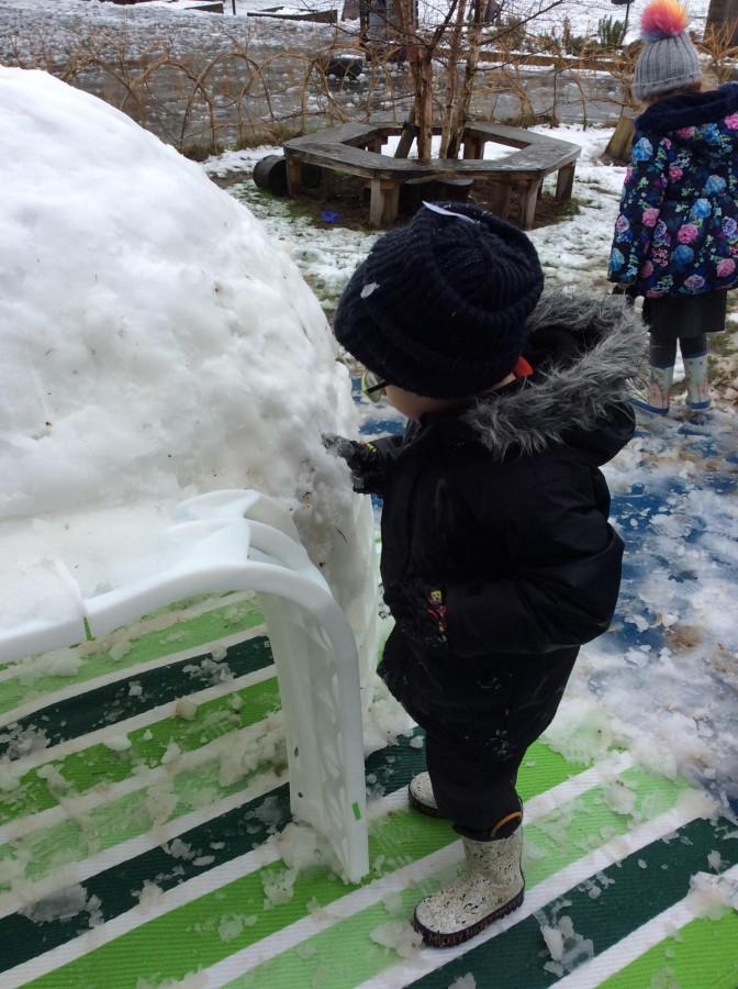 Snow fun ⛄️ ❄️
